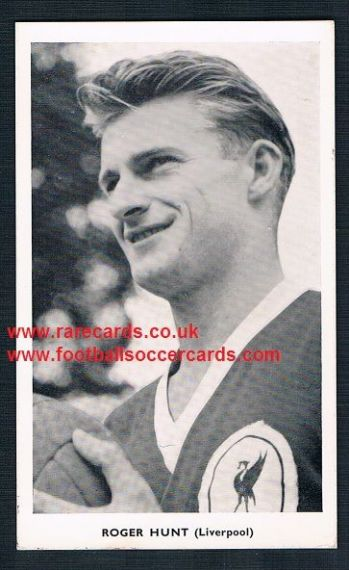 1962 Roger Hunt Liverpool England WC62 Quaker redemption card